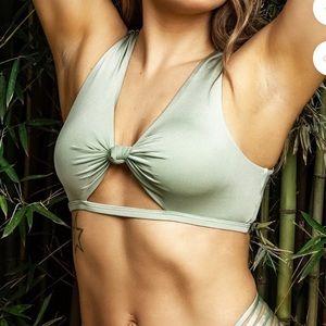 BuffBunny Twisted Bikini Top